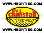 Paul Dunstall Power Tank and Fairing Transfer Decal DDUN13-7